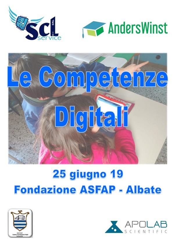 """Corso """"Le Competenze Digitali"""" 2019"""